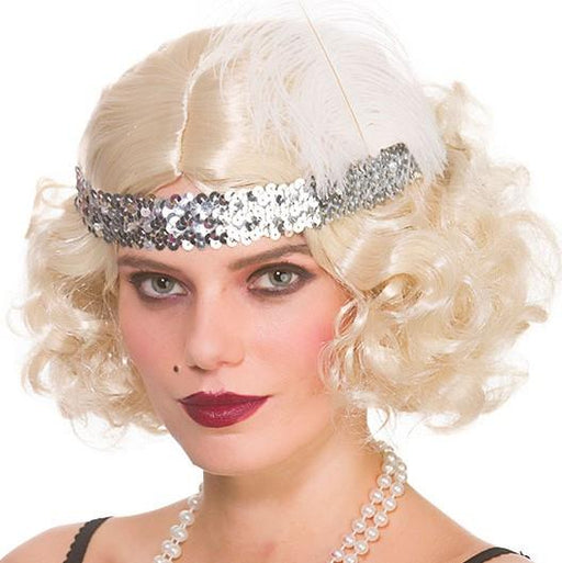 Curly Flapper Wig (Blonde)