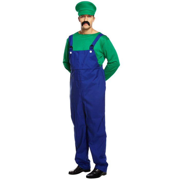 Super Work Man Costume (Green)