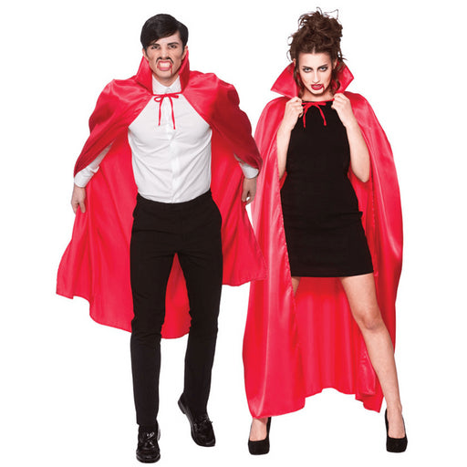 Deluxe Cape with Collar (Red)