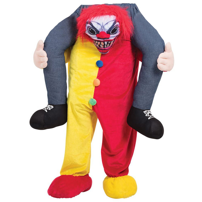 Piggy Back Scary Clown Costume