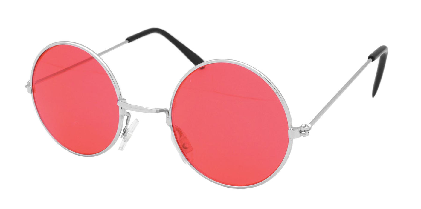 60's Glasses (Red)