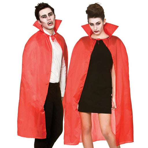 Cape with Collar (Red)