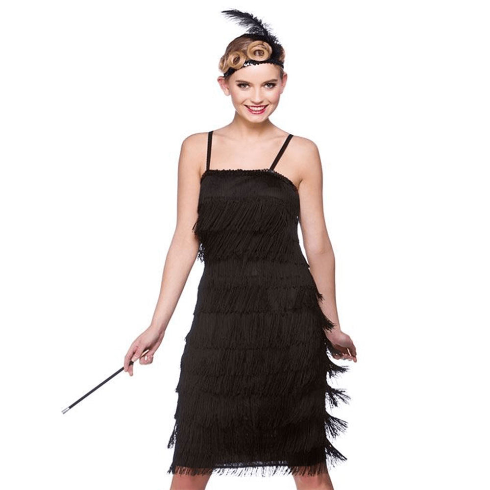 Jazzy Flapper Costume (Black)