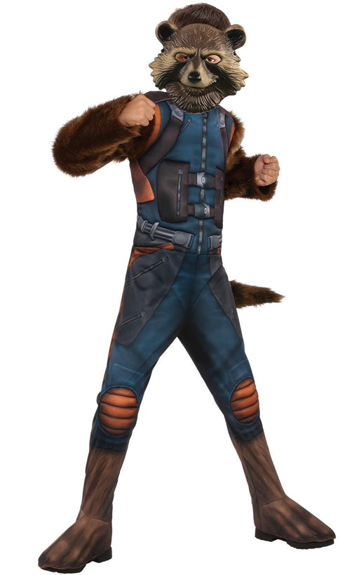 Kids Official Deluxe Rocket Raccoon Costume