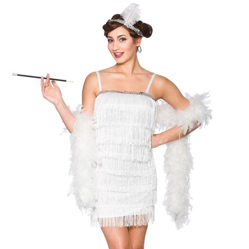 Showtime Flapper Costume (White)