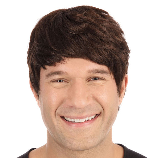 Short Male Wig (Brown)