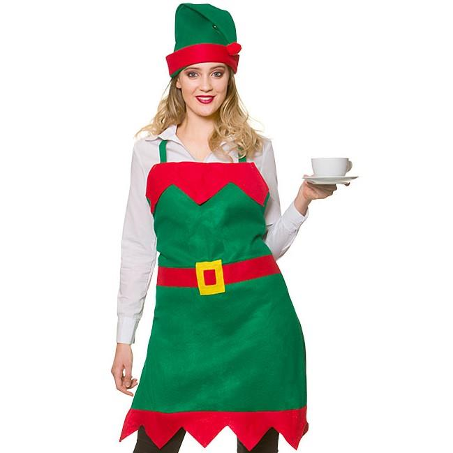 Elf Apron & Hat
