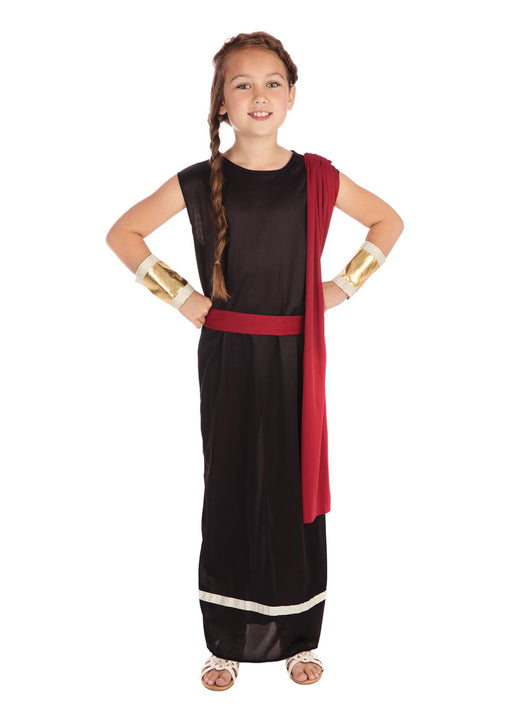 Black Roman Girl Costume