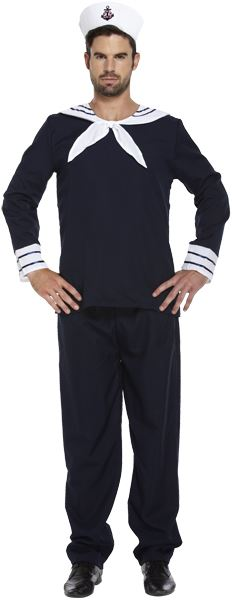 Navy Sailor Costume
