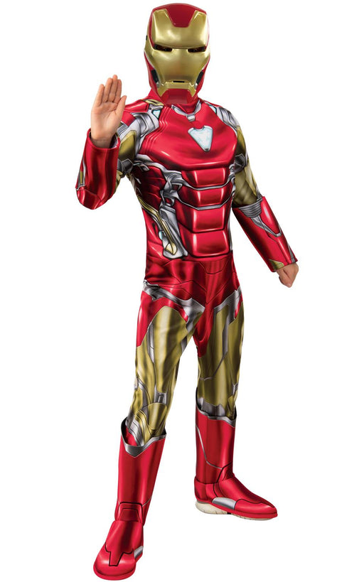 Kids Official Deluxe Endgame Iron Man Costume