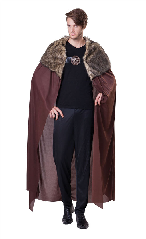 Deluxe Cape with Plush Collar