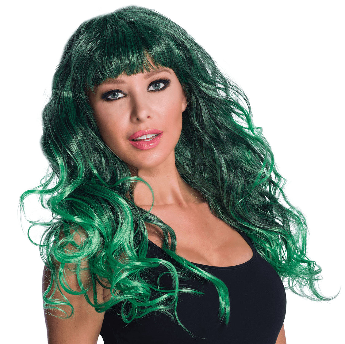 Gothic Temptress Wig (Green)