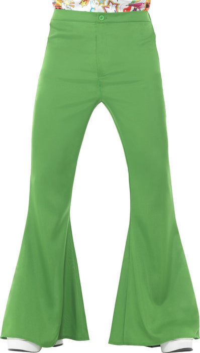 Flared Trousers (Green)