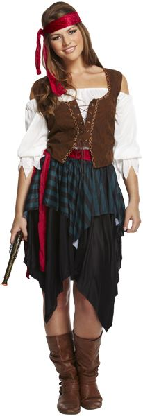 Pirate Lady Costume