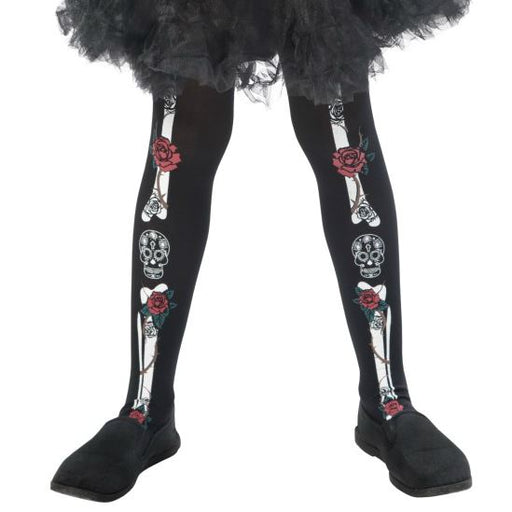 Kids Day of the Dead Tights