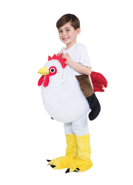 Kids Step In Chicken Costume