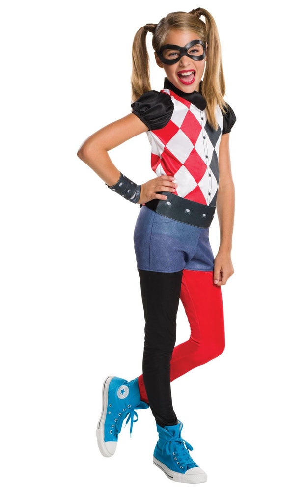 Kids Official DC Harley Quinn Costume