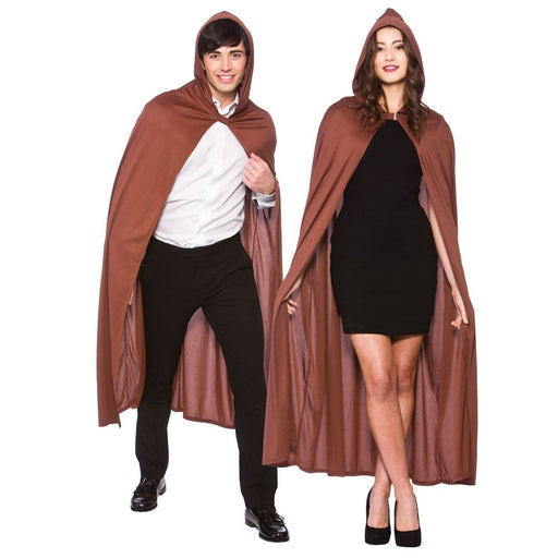 Hooded Cape (Brown)