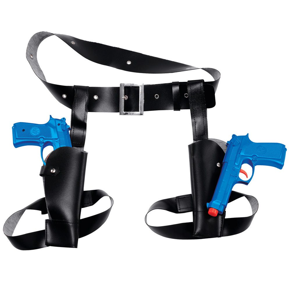 Thigh Twin Holster Set