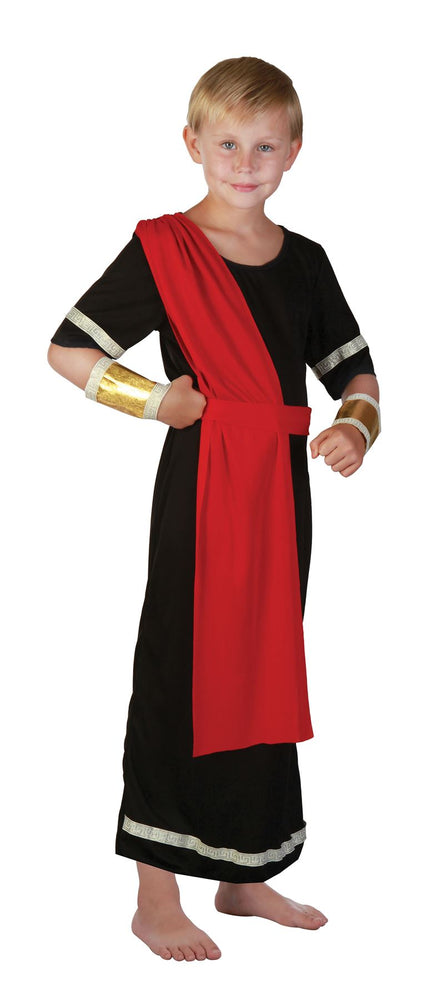 Kids Caesar Costume (Black)