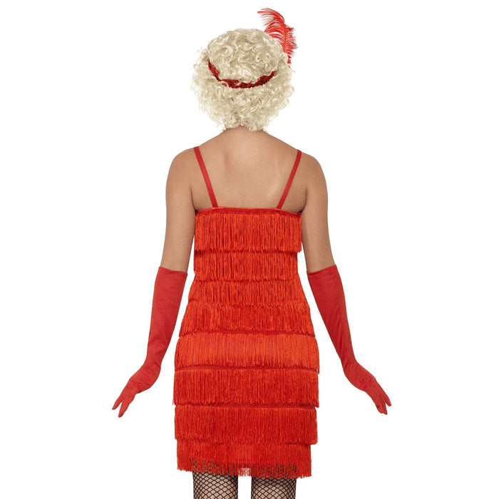 Long Flapper Costume (Red)