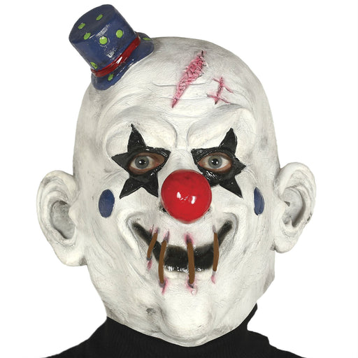 Clown Mask with Little Hat
