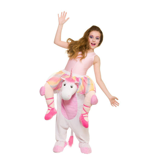Kids Carry Me Unicorn Costume