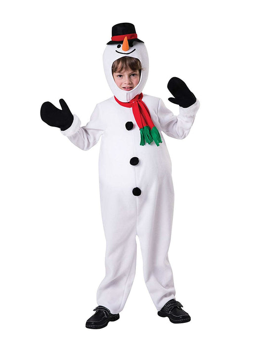 Kids Big Belly Snowman Costume