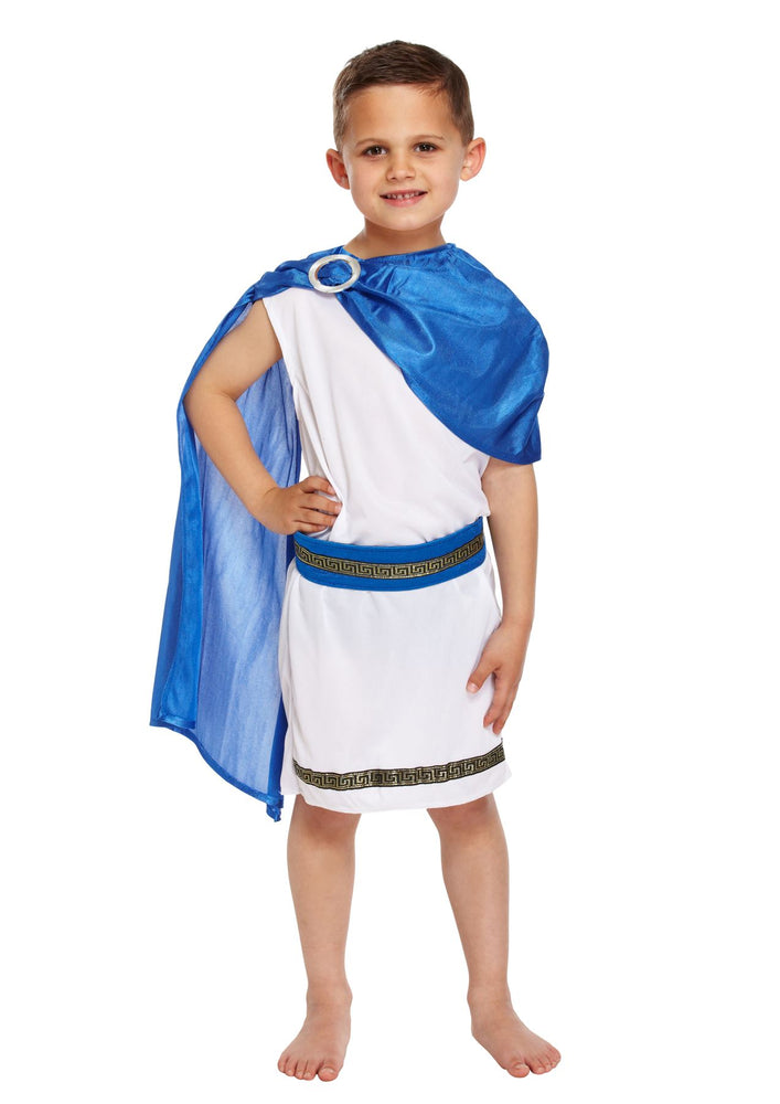 Kids Caesar Boy Costume
