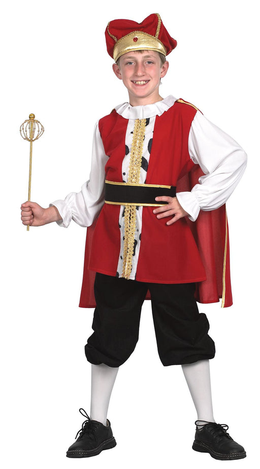 Kids Medieval King Costume