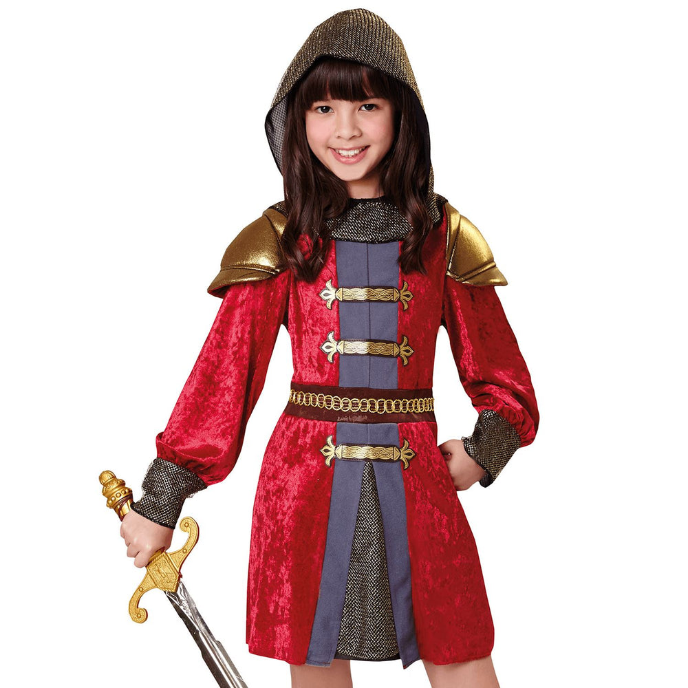 Kids Knight Princess Costume
