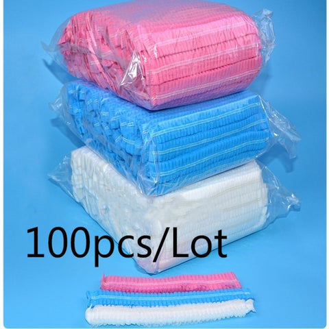 100pcs  microblading Accesories supplies medical hair net cap permanent makeup  Sterile Hat Nonwovens for eyebrow tattooing - BuyShipSave