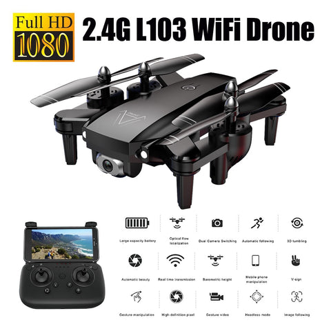 1080P RC Helicopters Camera Drone Wifi Drone with Camera Rc Helicopter with Camera 2.4G Optical Flow Position Drone Camera - BuyShipSave