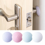 1PCS Wall Thickening Mute Door Stick Golf Styling Rubber Fender Handle Door Lock Protective Pad Protection Home Wall Stickers
