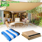 6-pin Thickened Covered Edge Balcony Household Heat Insulation Sun Protection Net Outdoor Garden Shade Net