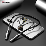 ALWUP G01 Bluetooth Earphone Wireless Headphones Four Unit Drive Double Dynamic Hybrid Deep Bass Earphone for Phone with mic 5.0 - BuyShipSave