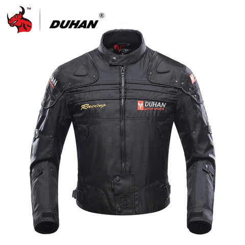 DUHAN Motorcycle Jacket Motorbike Riding Jacket Windproof Motorcycle Full Body Protective Gear Armor Autumn Winter Moto Clothing - BuyShipSave
