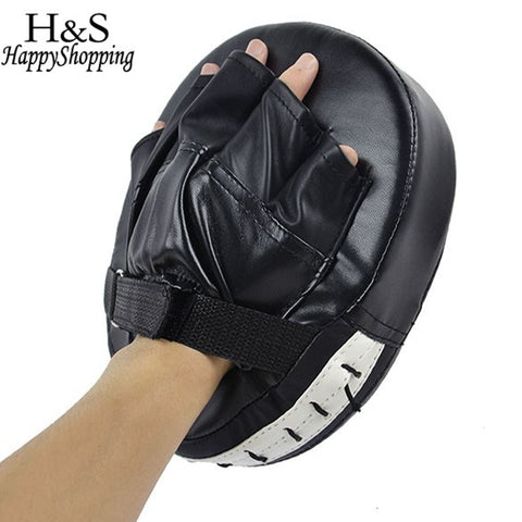 High Quality 1 Piece Black/Red Boxing Mitt MMA Target Hook Jab Focus Punch Pad Safety MMA Training Gloves Karate Luva De Foco - BuyShipSave