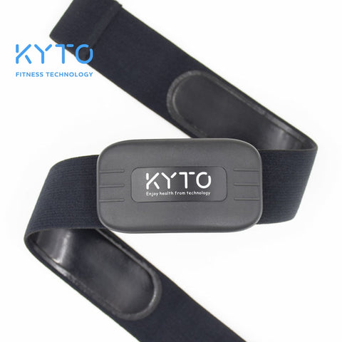 KYTO Heart Rate Monitor Chest Strap Bluetooth 4.0 ANT Fitness Sensor Compatible Belt Wahoo Polar Garmin Connected Outdoor Band - BuyShipSave