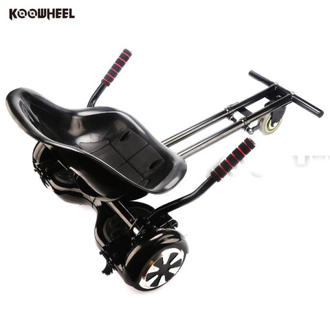 Koowheel Hoverseat for 2 Wheels Self Balancing Electric Scooter hovercart Go-Kart hoverboard skateboard Hoverkart kid Hover Seat