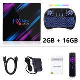 LEMFO H96 Max Smart TV Box Android 9.0 RK3318 4GB 32GB 64GB 4K HDR 2.4G&5G Wifi BT4.0 USB 3.0 Airplay Goole Play Set Top Box