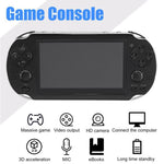 New Handheld Game Console 8GB Memory 32 Bit portable video game built-in 1000 free games for PSP Game Console Support TV Out Put
