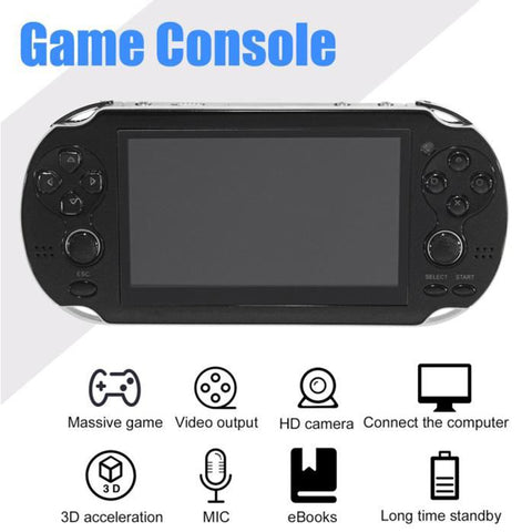 New Handheld Game Console 8GB Memory 32 Bit portable video game built-in 1000 free games for PSP Game Console Support TV Out Put - BuyShipSave