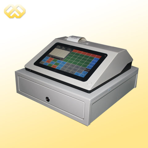 POS0901 9 inch touch screen pos pc factory cheaper pos machine all in one pos pc pos terminal restaurant equipment - BuyShipSave