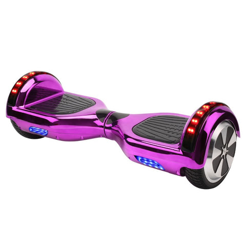 Ship from Germany stock 6.5 inch 2 wheels scooter chrome shell hoverboard with Bluetooth self balance scooter free shipment - BuyShipSave