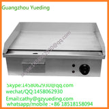 Stainless Steel Paster Griddle Fast Food Griddle Teppanyaki Griddle Restaurant Kitchen equipment practice electric  griddle