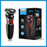 Ufree Face Care Men Beard Trimmer Machine Rechargeable Electric Shaver 3D Triple Floating Blade Heads Shaving Razors 100-240V