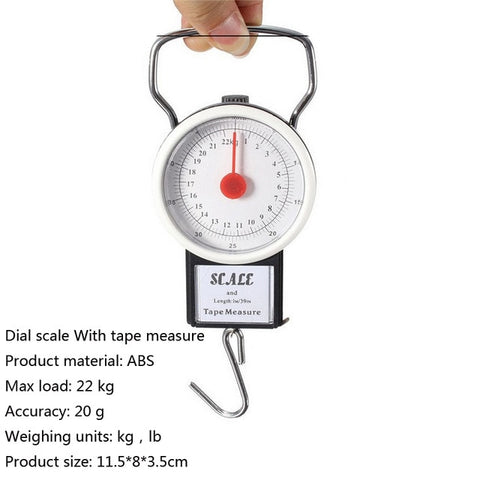 43603f490007 Urijk 40kg/100g LCD Digital Electronic Luggage Scale Portable Travel ...