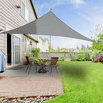 Waterproof Sun Shelter Triangle Sunshade Protection Outdoor Canopy Garden Patio Pool Shade Sail Awning Camping Shade Cloth Large