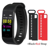 Y5 Smart Bracelet Color Display Wristband Heart Rate Activity Fitness Tracker Smart Band Bracelet VS for XiaoMi Miband 2